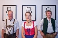 Ausstellung im combinat 56, München, September 2011, Foto: Andreas Schebesta