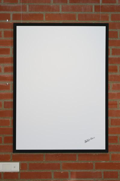 """Bild """"Zitat"""", Ausstellung im Rathaus Unterföhring, März 2010. Foto: Peter Schäfermeier"""