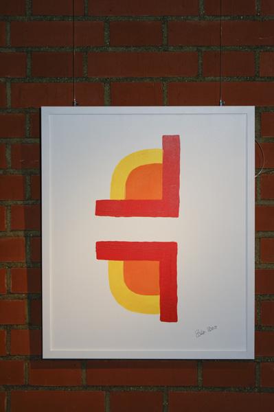 """Bild """"Sunshine"""", Ausstellung im Rathaus Unterföhring, März 2010. Foto: Peter Schäfermeier"""