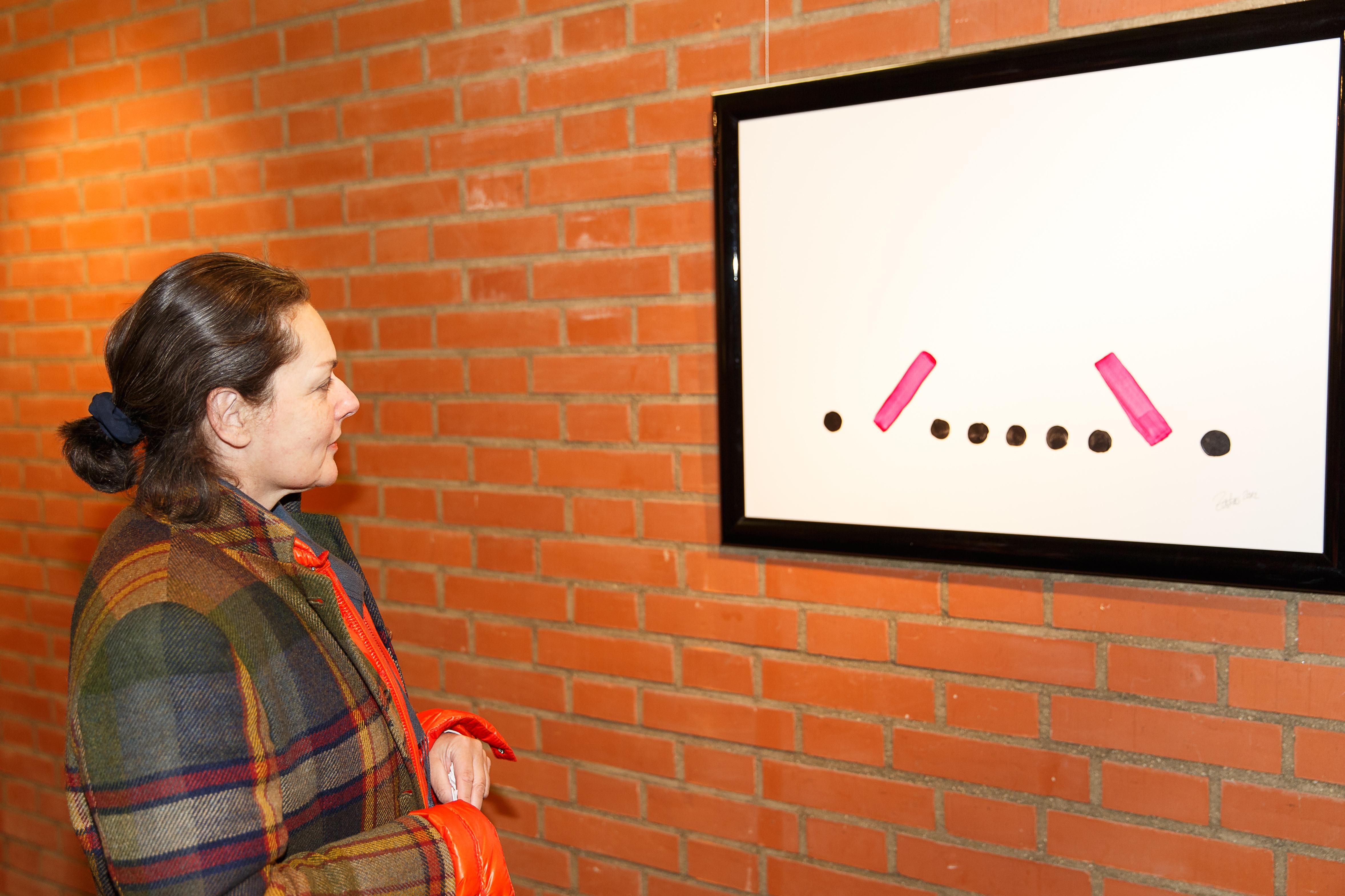 """Gast mit Bild """"Rubikon"""", Foto: Volker Schmitt"""