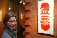 "Gast mit Bild ""Fast Food"". Foto: Volker Schmitt"
