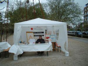 Bettina Zastrow auf der Messe Kunst und Garten, Böblingen 2005